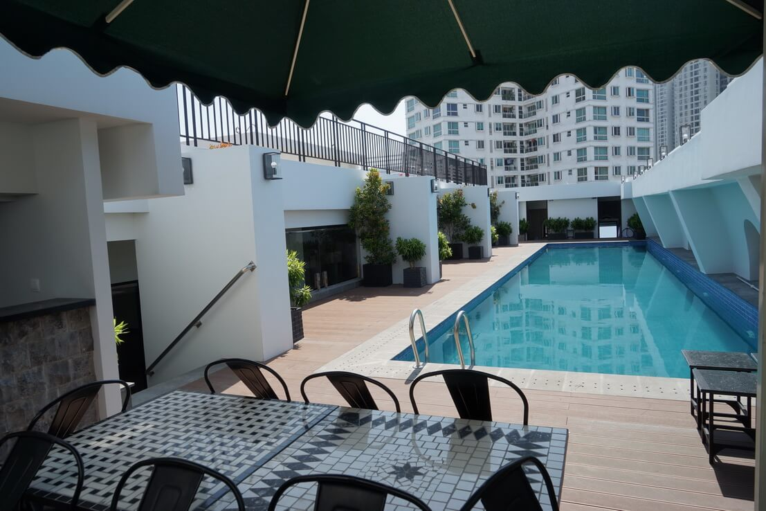 Beautiful 2 bedrooms serviced apartment for rent in District 2, Thao Dien ward