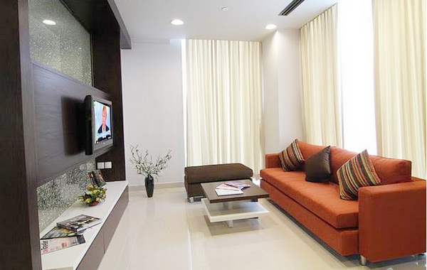 Beautiful serviced apartment for rent in District 1, HCMC