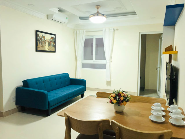 Brand new seviced apartment for rent in Thao Dien Ward - 2 bedrooms