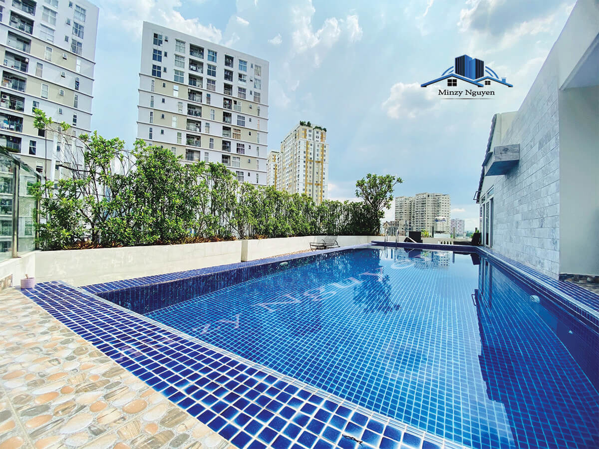 Charming 2 Bedrooms Serviced Apartment For Rent in Thao Dien, District 2