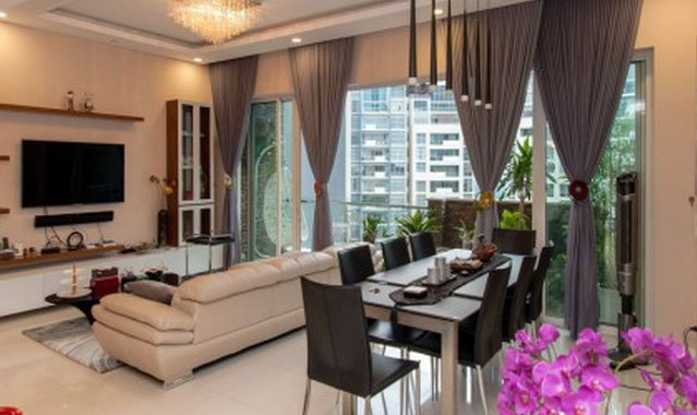 Estella Heights Apartment for rent in District 2, HCMC - 3 bedrooms