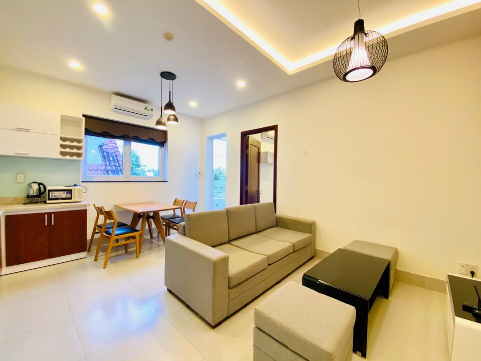 High End 1 Bedroom Serviced Apartment For Rent In Thao Dien, District 2