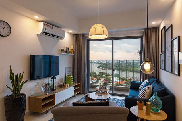 Masteri Apartment for rent in Thao Dien, District 2, HCMC - 3 bedrooms