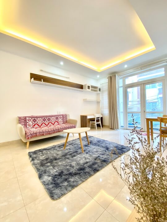 Nice 1 Bedroom Serviced Apartment For Rent In Xuan Thuy, Thao Dien ward, D2