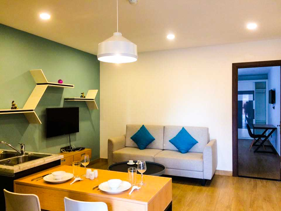 Nice Serviced Apartment For Rent In Thao Dien 1 Bedroom With Big Balcony Villa For Rent In