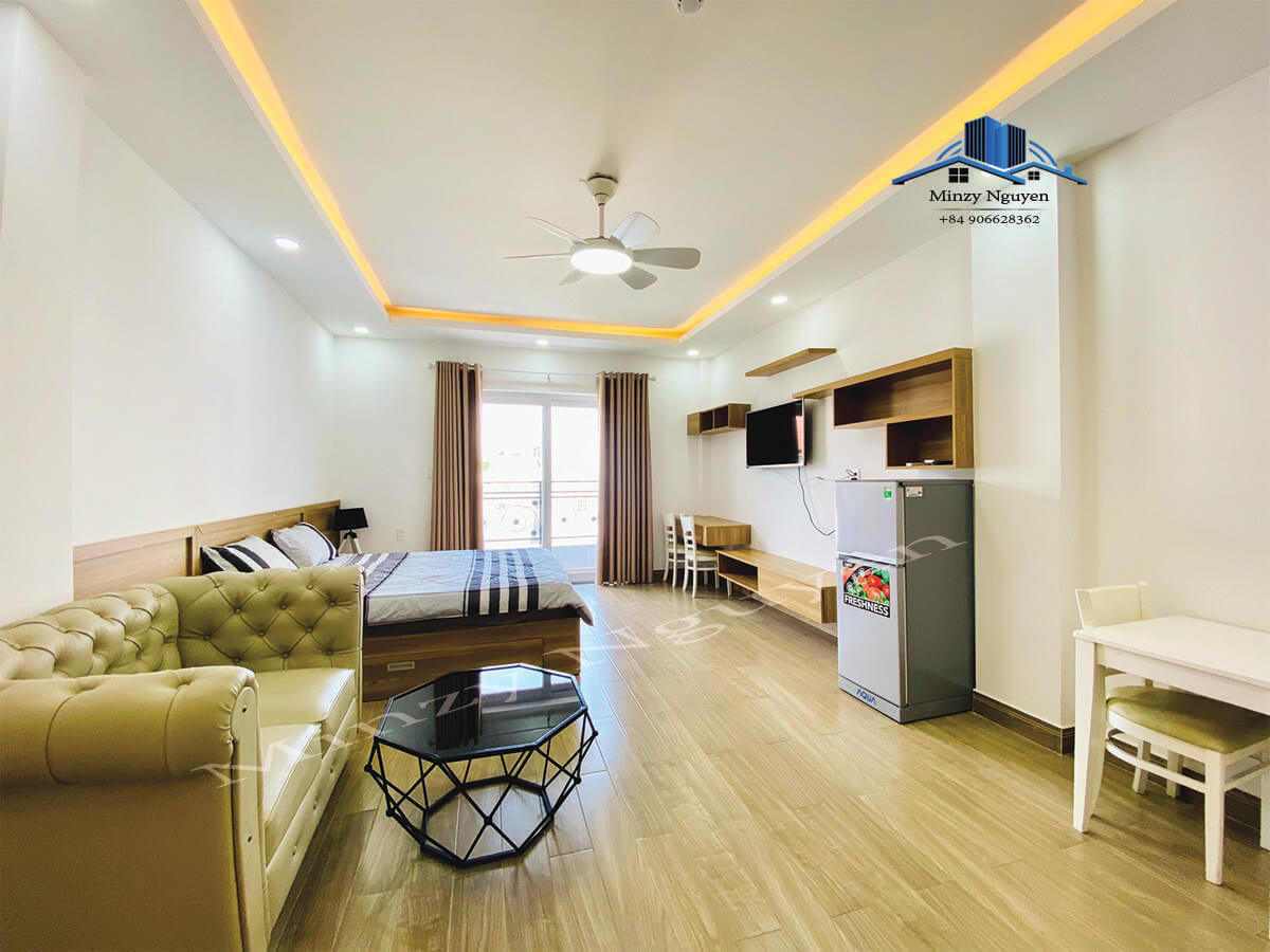 Nice Studio Serviced Apartment For Rent near Xuan Thuy street, Thao Dien ward, D2
