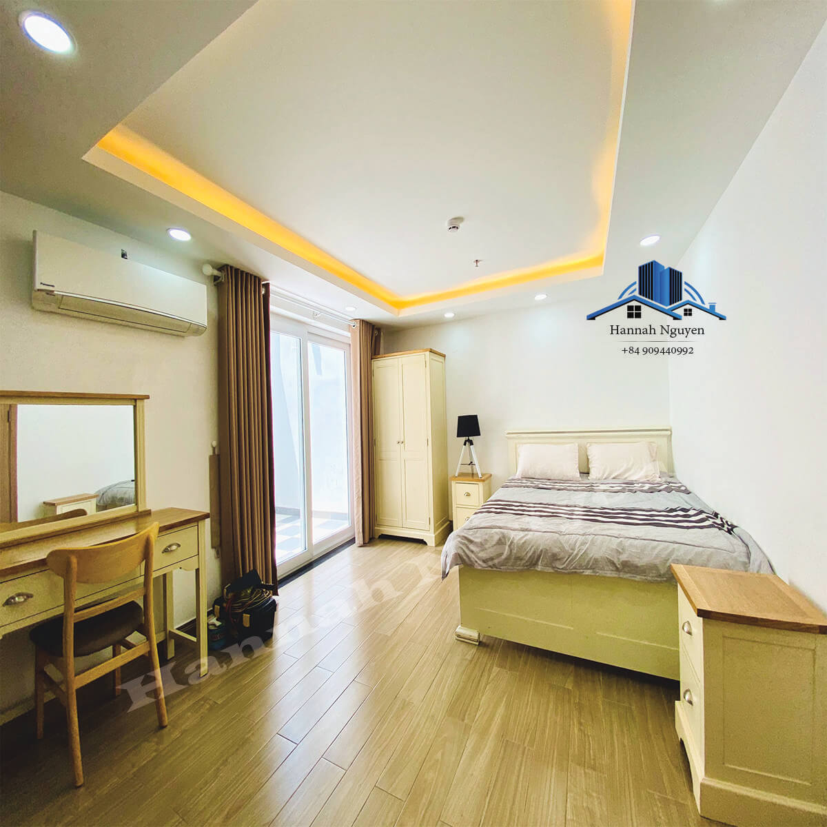 Private Yard, Nice Studio Serviced Apartment For Rent near Xuan Thuy street, Thao Dien, D2