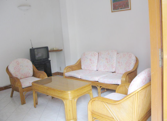 Serviced apartment for rent in District 3, Ho Chi Minh City - 2 bedrooms