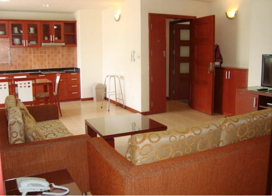 Serviced apartment for rent in District 3, Saigon