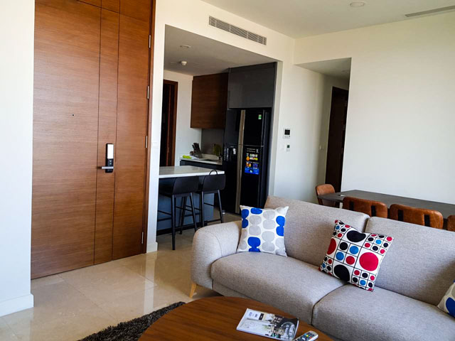 The Nassim Apartment for rent in Thao Dien ward, District 2, HCMC - 3 bedrooms